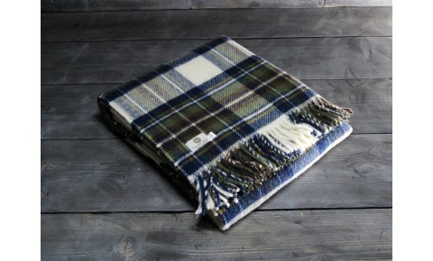 Blue Dress Stewart Welsh Blanket